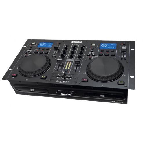 Gemini CDM 4000 CD/MP3 USB DJ Media Player