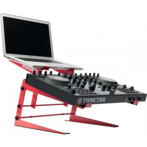 Magma Control Stand για DJ Controller και Laptop κόκκινο