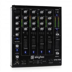 Skytec STM 7010 4 Channel USB DJ Mixer