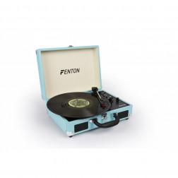 Fenton RP115 Retro Vintage Πικάπ για Δίσκους Βινυλίου σε μπλέ χρώμα με USB