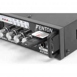 Fenton AV380BT USB/SD/BT πλήρες karaoke σύστημα ήχου με ενισχυτή και 2 ηχεία