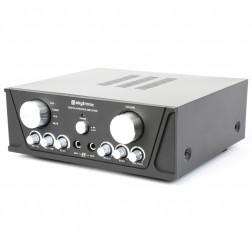 Πλήρες Hi-Fi πακέτο ήχου με Retro Vintage Πικάπ, Ενισχυτή, Ηχεία και Καλώδια σύνδεσης