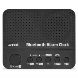 MaxMX4 ψηφιακό ρολόι με ξυπνητήρι, Bluetooth, ραδιόφωνο και επαναφορτιζόμενη μπαταρία