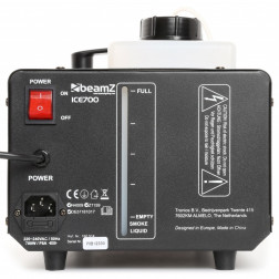 BeamZ ICE700 μηχανή πάγου Ice Fogger