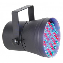 Beamz PAR 36 DMX spot 55 LEDs - Black
