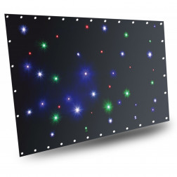 BeamZ SparkleWall LED36 RGBW 1x 2m with controller