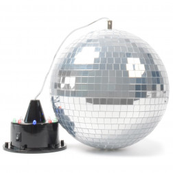 BeamZ Mirrorball with LED + Motor με LEDs
