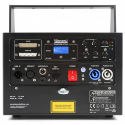 BeamZ Professional Phantom 2500 Pure Diode Laser RGB Analog