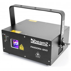 BeamZ Pandora 1200 επαγγελματικό TTL Laser RGB χρωμάτων