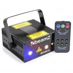 BeamZ Bianca διπλό laser 330mW RGB Gobo IRC