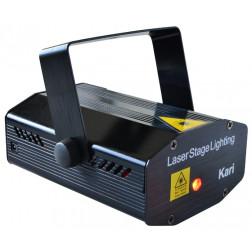 Beamz Kari Multipoint Laser R/G