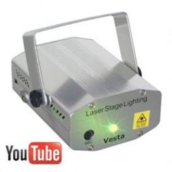 Beamz Vesta 4 pattern Multipoint Laser RG