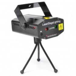 Beamz LS-FF08 Mini Laser Red-Green+Gobo