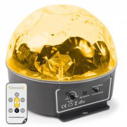 BeamZ Mini Star Ball 6x 3W RGBAWP LEDs IR