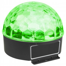 MaxMagic Jelly DJ Ball 6x 1W LEDs φωτορυθμικό με πολύχρωμο εφέ ντισκομπάλας