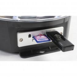 Beamz Magic Jelly DJ Ball φωτορυθμικό με ηχείο και Mp3 player 6x 1W LEDs SD/USB/MP3