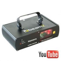 Beamz Hemera Muliticolor Laser RGY DMX