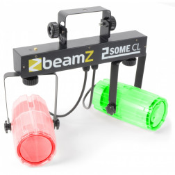 BeamZ 2-Some Light Set 2x 57 RGBW LEDs Clear
