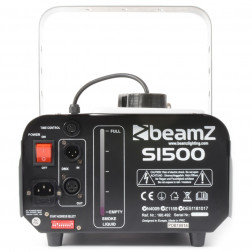 BeamZ S1500 Smoke Machine DMX wired Timer control