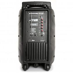 MaxP12BT Φορητό ηχοσύστημα με MP3 USB microSD Bluetooth Ασύρματο Μικρόφωνο και μπαταρία Li-ion