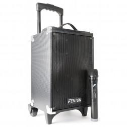 "Fenton ST050 Φορητό Ηχοσύστημα 8"" 130 Watt Max με MP3/USB/ microSD/ Bluetooth 1 Ασύρμ. Μικρόφωνο Li-ion Battery"