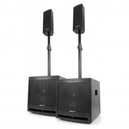 Σέτ ηχείων Vonyx VX1000BT Active speaker kit 2.2 με bluetooth
