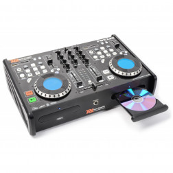 Power DynamicsPDX125 Dual Player CD SD USB MP3