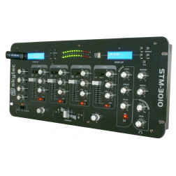 "Skytec STM-3010 4-Channel 19"" Mixer with USB/MP3"