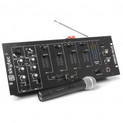 Μίκτης SkyTec 6 καναλιών STM-3018A με ενισχυτή και BT/VHF συνδέσεις