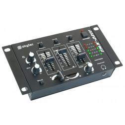 Skytec STM 2211 4-channel Karaoke mixer black