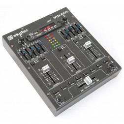 SkyTec STM2270 4-Channel Mixer Sound Effects SD/USB/MP3/BT