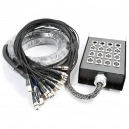 PD Connex Stage Snake 12 εισόδων και 4 εξόδων XLR καλωδίου 30 μέτρων