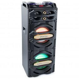 "Fenton LIVE2101 Ενεργό Bluetooth ηχείο 2 x 10"" 800W με ενσωματωμένα LED και συσκευή αναπαραγωγής USB / SD"