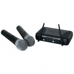 SkyTec STWM722 2-Channel UHF Wireless Microphone System
