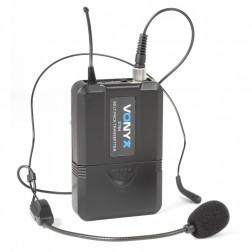 Ασύρματο Σύστημα Μικροφώνων με Μικρόφωνο Κεφαλής και Χειρός UHF Vonyx WM73C 2 καναλιών
