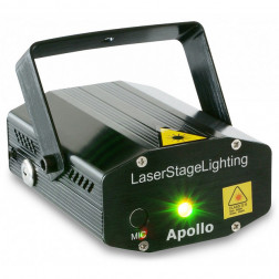BeamZ Apollo Multipoint Laser - Κόκκινο/Πράσινο 170mW