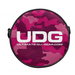 UDG headphone bag digi pink camo