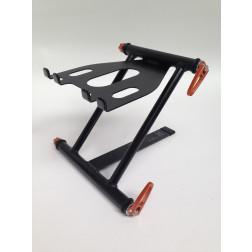 Crane Special Edition Pro Laptop Stand (μαύρο με πορτοκαλί σφιγκτήρες)