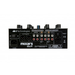 Mixars Cut MKII 2 channel scratch mixer Galileo Crossfader