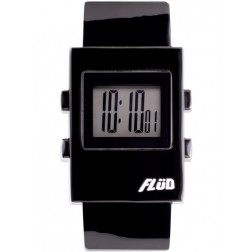 FLUD Watches The Digi Watch Pop, retro, funky watch black