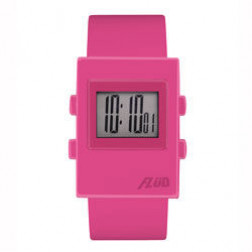 FLUD Watches The Digi Watch Pop, retro, funky watch pink