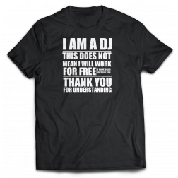 DJ tshirt i got bills