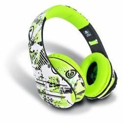 iDance Ibiza 202 ακουστικά σε πράσινο χρώμα