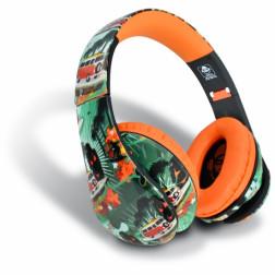 iDance Ibiza 206 ακουστικά σε πορτοκαλί χρώμα