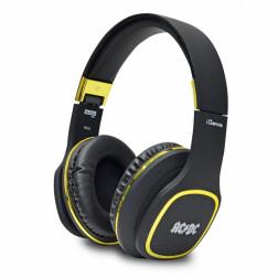 Ακουστικά iDance ACDC BLACK 100GD σε μαύρο χρώμα