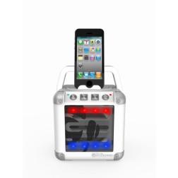 iDance Mini Cube 2 CM-2 Ασύρματο Ηχείο Bluetooth με Μπαταρία -Λευκό