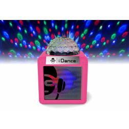 Φορητό αυτοενισχυόμενο ηχείο iDance CUBE NANO CN-1 PINK