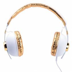 iDance HIPSTER 703 lifestyle retro ακουστικά σε λευκό χρώμα