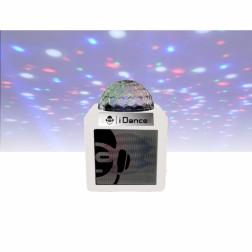 Φορητό αυτοενισχυόμενο ηχείο iDance CUBE NANO CN-1 WHITE