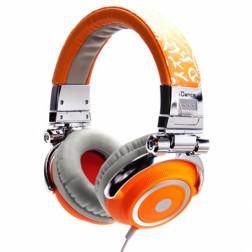 Ακουστικά iDance DISCO 600 σε πορτοκαλί χρώμα